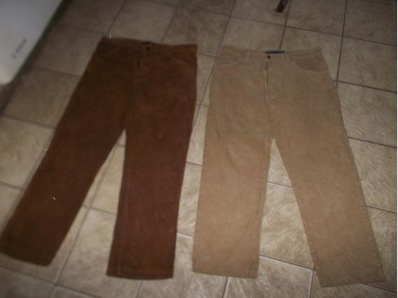 Pantalon De Corderoy X2 T 42
