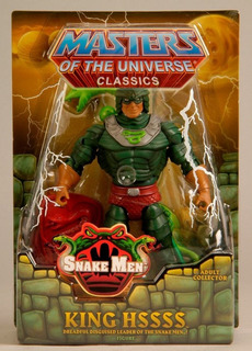 Mattel - Motuc - He-man King Hisss Nuevo Cerrado !!