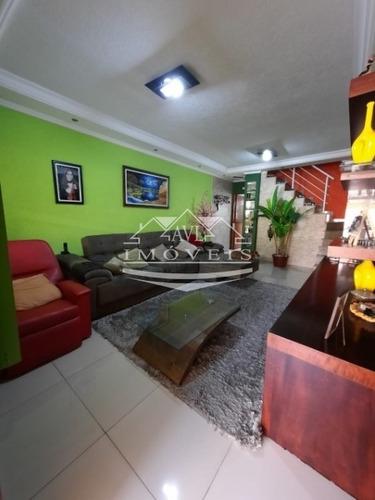 Imagem 1 de 30 de Sobrado Para Venda No Bairro Vila Rica, 3 Dorm, 1 Suíte, 2 Vagas, 149 M - 933