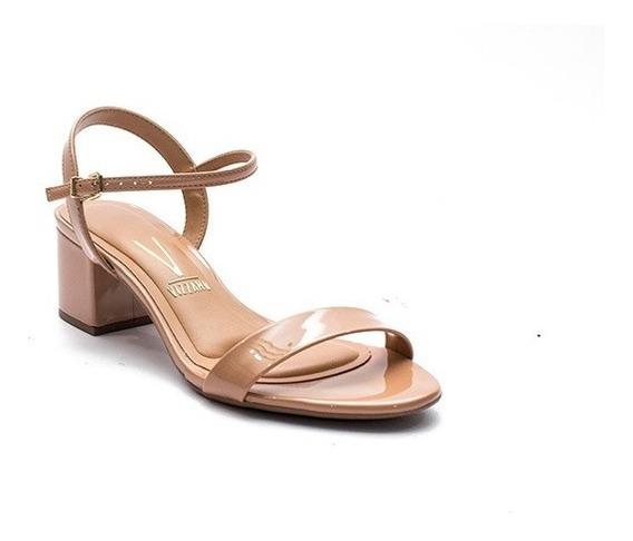 Sandalias Charol Taco Medio Zapatos Vizzano Dama