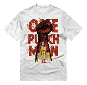Playera Saitama One Punch Man Puño