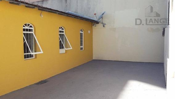 Casa Para Alugar, 120 M² Por R$ 1.400,00/mês - Jardim Proença - Campinas/sp - Ca7207