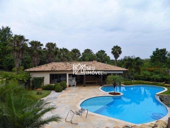 Casa Residencial À Venda, Fazenda Vila Real De Itu, Itu - Ca1477. - Ca1477