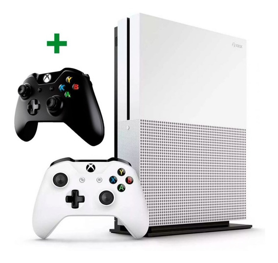 Xbox One S 500gb 2 Controles