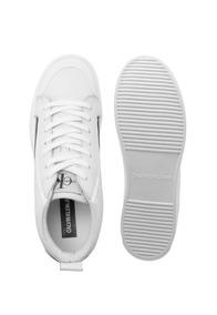 Tenis Ckj Couro Cano Alto Skate Sneaker Calvin Klein