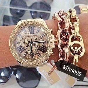 Relógio Feminino Mk6095 Dourado Wren 18k - Michael Kors
