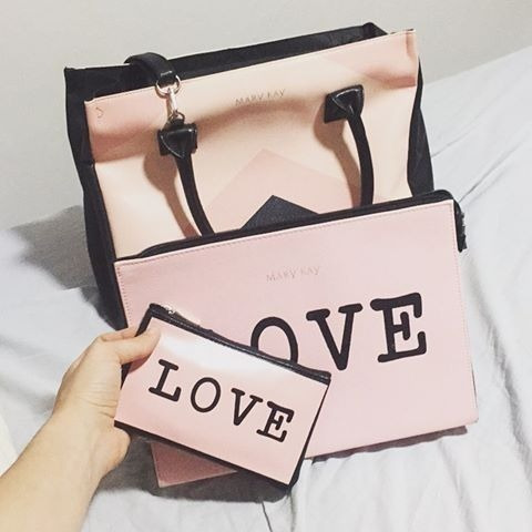 Kit Bolsa Mary Kay It Bag By Lollita + Love Bag + Mini Love