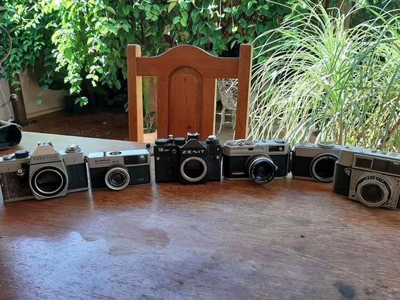 Lote Com 6 Câmeras Antigas