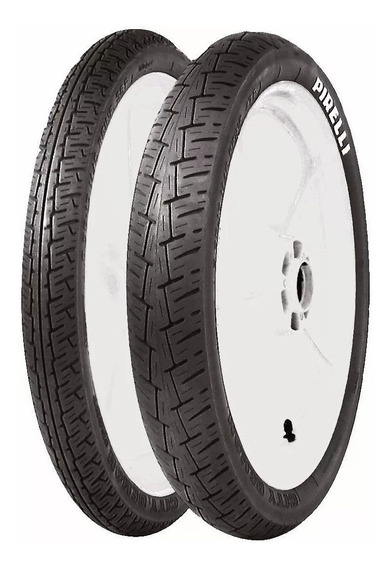 Par Pneu Dafra Kansas 150 Pirelli 2.75-18 3.50-16 City Demon