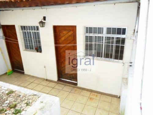 Casa Com 1 Dormitório Para Alugar, 50 M² Por R$ 1.300,00/mês - Jabaquara - São Paulo/sp - Ca0550