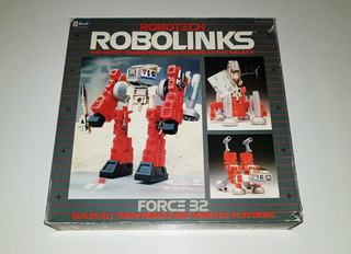 Vintage 1985 Revell Robotech Robolinks Force 32 - Impecable