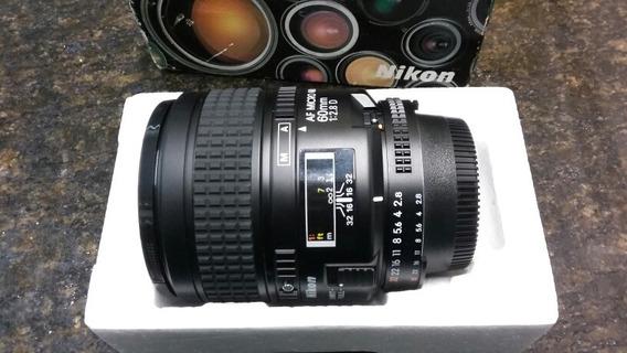 Lente Nikkor Micro 60mm F/2.8d