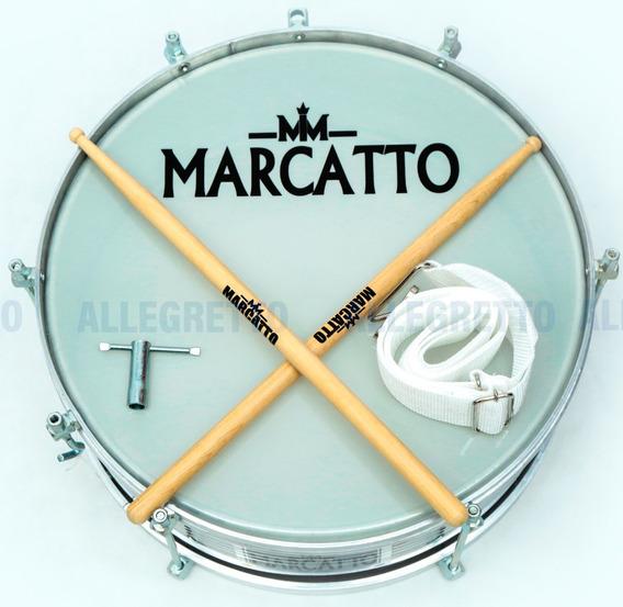 Caixa De Repique 12 Marcatto M3001*** C/ Baqueta E Talabarte
