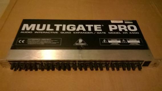 Behringer Multigate Pro Xr 4400 Quadra Expander Gate Zerado!