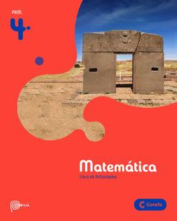 Corefo Matemática 4to De Primaria 2020 [ Pack De 3 Libros ]