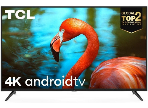 Televisor Tcl 65  P715 4k Uhd Android + Soporte Pared