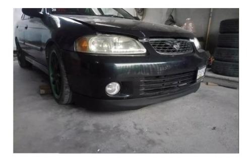 Imagen 1 de 3 de Lip Delantero Spoiler Nissan Sentra 2000-2006