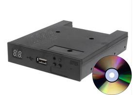 Drive Emulador Disquete Usb Pendrive Teclado Yamaha Roland