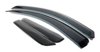 Calha Defletor De Chuva Honda Novo New Fit 2015 / Tg Poli