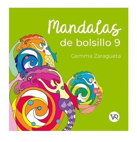 Imagen 1 de 3 de Mandalas De Bolsillo 9 - Para Colorear - Libro V&r