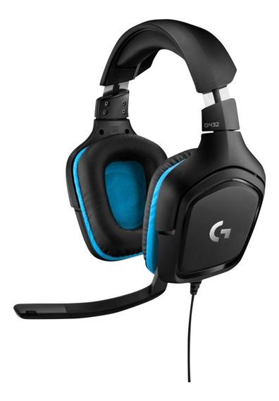 Auriculares Gamer G432 7.1 Pc Ps4 Xbox Logitech G