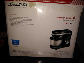 Batidora Smart-tek Kitchen Assist Powy Negra