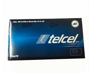 Chip Telcel Diferentes Ladas Nuevo Saldo Incluido