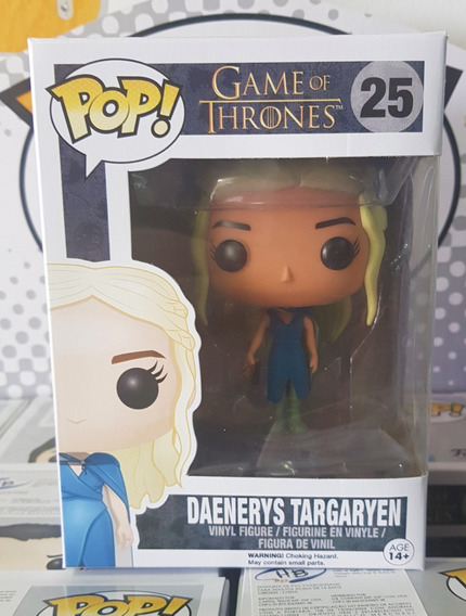 Game Of Thrones - Daenerys Targaryen Funko Pop Boneco Got