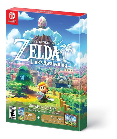 Links Awakening The Legend Of Zelda Limited Edition Dreamer