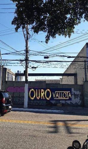 Terreno Para Alugar, 620 M² Por R$ 21.400/mês - Alto Da Mooca - São Paulo/sp - Te0271