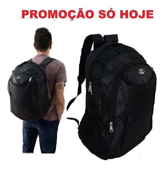 Mochila Espaçosa Barata Para Motoqueiro Estudante Faculdade