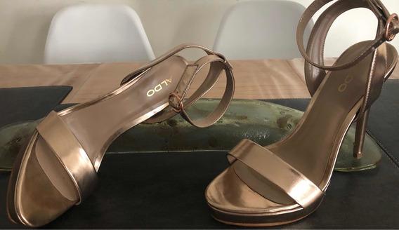 Zapatos, Sandalias De Fiesta Aldo Talle 36