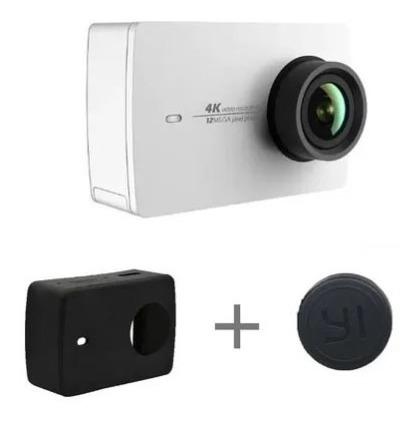 100% Original Action Camera Xiaomi Yi 2 4k (+ 2 Baterias)