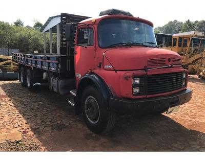 Em Oferta: Mb L 2013 Truck Balanceira Com Carroceria