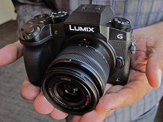 Panasonic Lumix G7 4k + Lente 8mm Fisheye, Lente 14-42