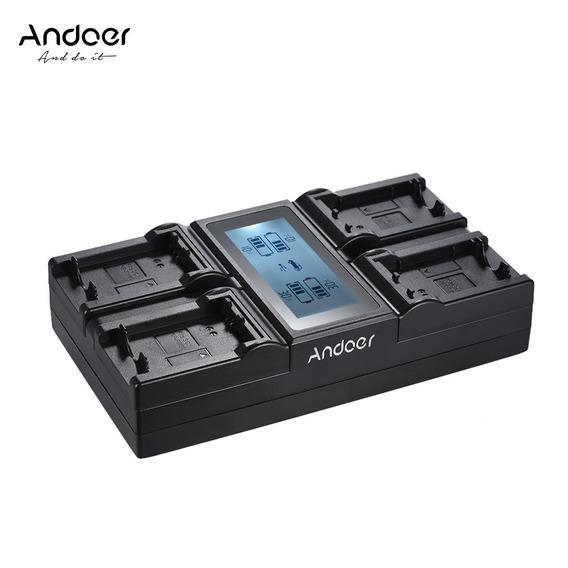 Carregador Quadruplo Bateria Sony Np-fz100 - 4 Simultâneo