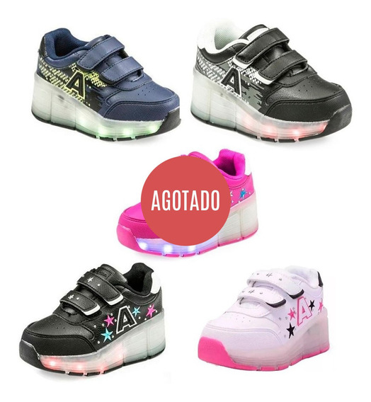 Zapatillas Ruedas Addnice Luces Mmk Whes