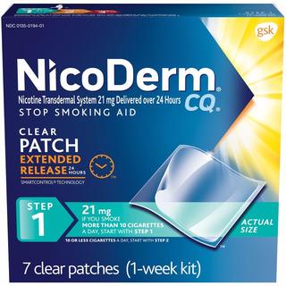 Nicoderm Cq Parches Nicotina Etapa 1 Dejar De Fumar 1 Semana
