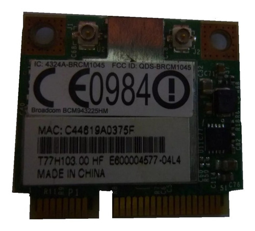 Wifi Broadcom Qds-brcm1045 Notebook Acer 5251 5551 Gateway N