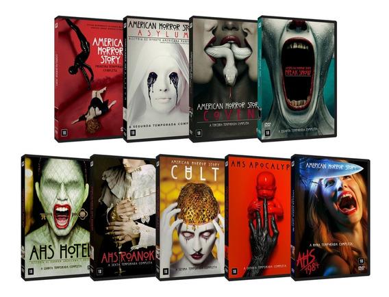 Série American Horror Story 1ª A 9ª Temporadas