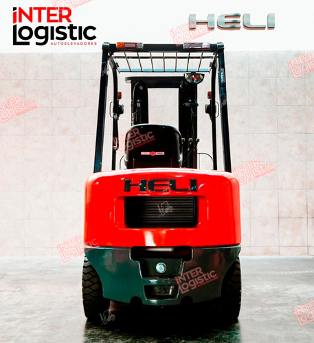 Autoelevador Heli Interlogistic Serie H2000 2500 Kg Nuevo