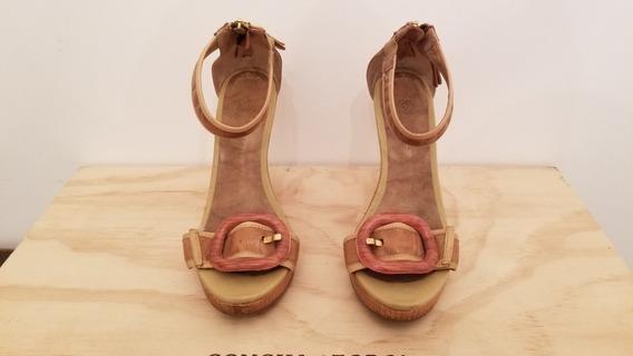 Sapato Capodarte Marrom N35 Pouco Uso
