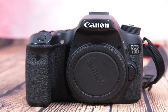 Câmera Canon Eos 70d 20.2mp Full Hd