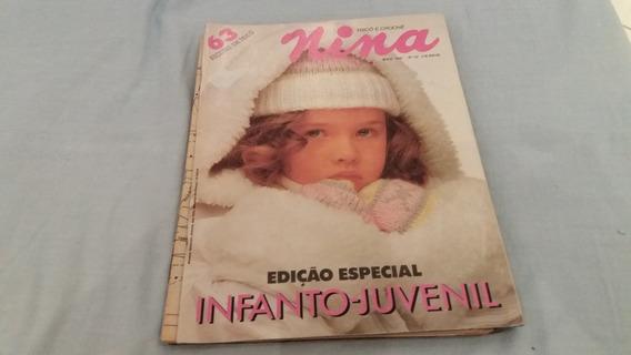 Revista Nina Infanto Juvenil Nº 52 - Maio 1991 C/63 Receitas