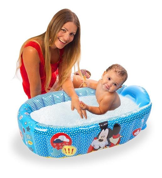 Bañera Inflable Para Bebès Recièn Nacidos Disney