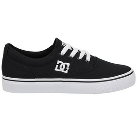 Tênis Dc Shoes New Flash 2 Tx Black White 11094 Original