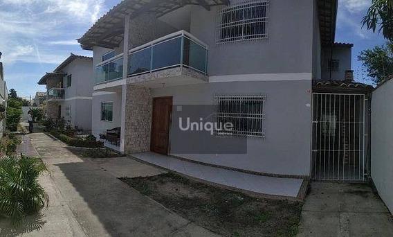 Casa Residencial À Venda, Palmeiras, Cabo Frio. - Ca0585