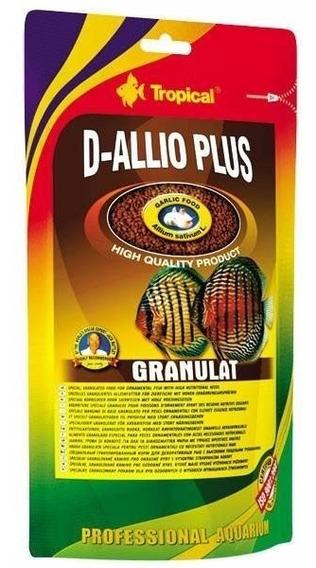 Ração Fortificada C/ Alho Tropical D-allio Plus Granulat 22g