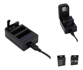 Carregador Multiplo Controle 2 Bateria Gopro 4 Black Telesin