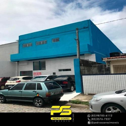 Imagem 1 de 14 de Prédio Para Alugar, 640 M² Por R$ 26.000/mês - Mangabeira - João Pessoa/pb - Pr0018